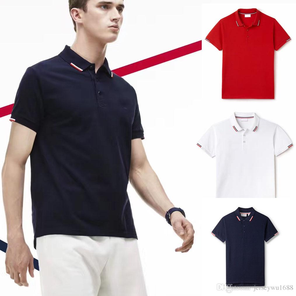 2019 Pp Fred Mens Polo Shirt London Fashion Youth Casual Polo