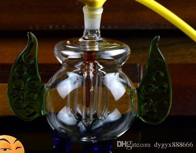 Para enviar um pequeno queimador de incenso parágrafo vidro Hookah, estilo, cor, entrega aleatória, canos de água, bongos de vidro, vidro Hookahs, cachimbo