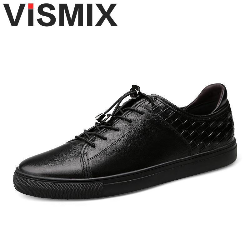 74ecfdb81d5e VISMIX Mens Shoes 2017 Men Genuine Leather Casual Shoes Breathable Men  Flats Luxury Brand Male Footwear Shose Cheap Shoes Dansko Shoes From  Haikee