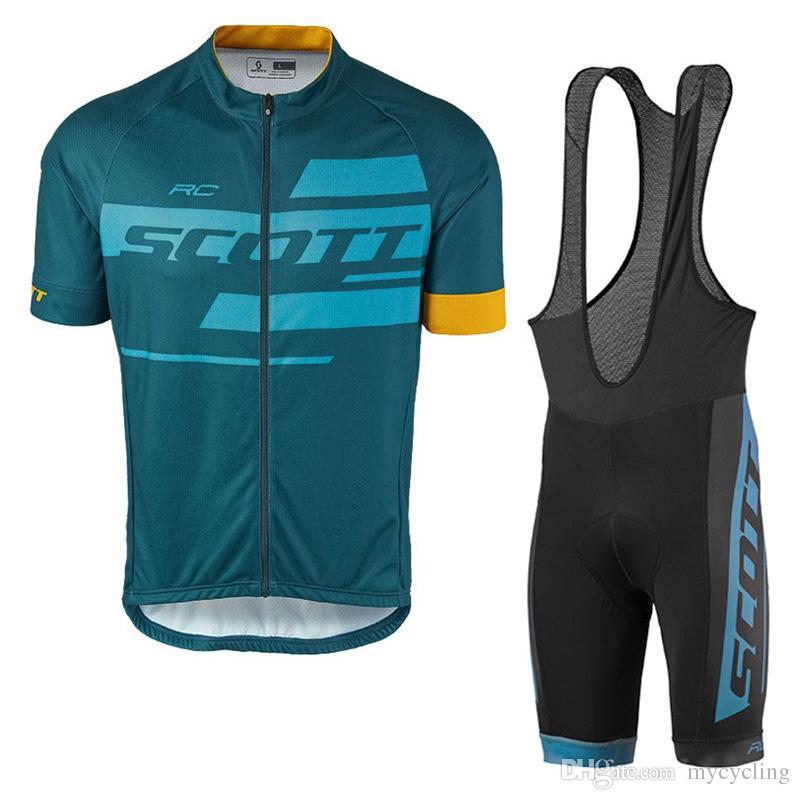 2018 Scott Cycling Jersey Mtb Bike Clothes Cycling Clothing Bicycle  Sportswear Outdoor Summer Cycling Jersey Bib Shorts Gel Pad 82412Y Cheap  Jersey Cool ... 642576bd7