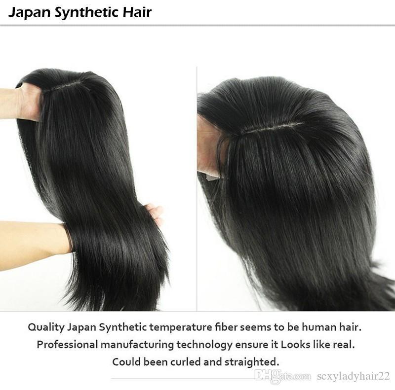 Фондовый Яки прямые кружева фронт парик 18-30 дюймов длиной женщин кружева фронтальный парик натуральный черный цвет синтетические кружева полностью волос