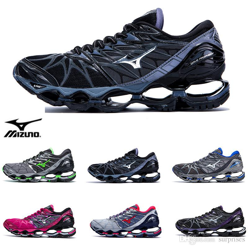 7cb49a7030a16 Classic Original MIZUNO WAVE Prophecy 7 Professional Mens Shoes Outdoor Air  Cushioning Sport Sneakers Men Weightlifting Shoes Size 40 45 Waterproof  Running ...