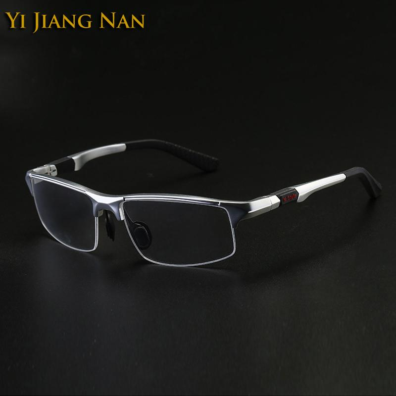 f8b2b7f2260b 2019 Yi Jiang Nan Brand Men Quality Semi Frame Glasses Fashion Sport Sunglasses  Frame Eyeglasses For Men Prescription Glasses Frames From Shuidianba, ...