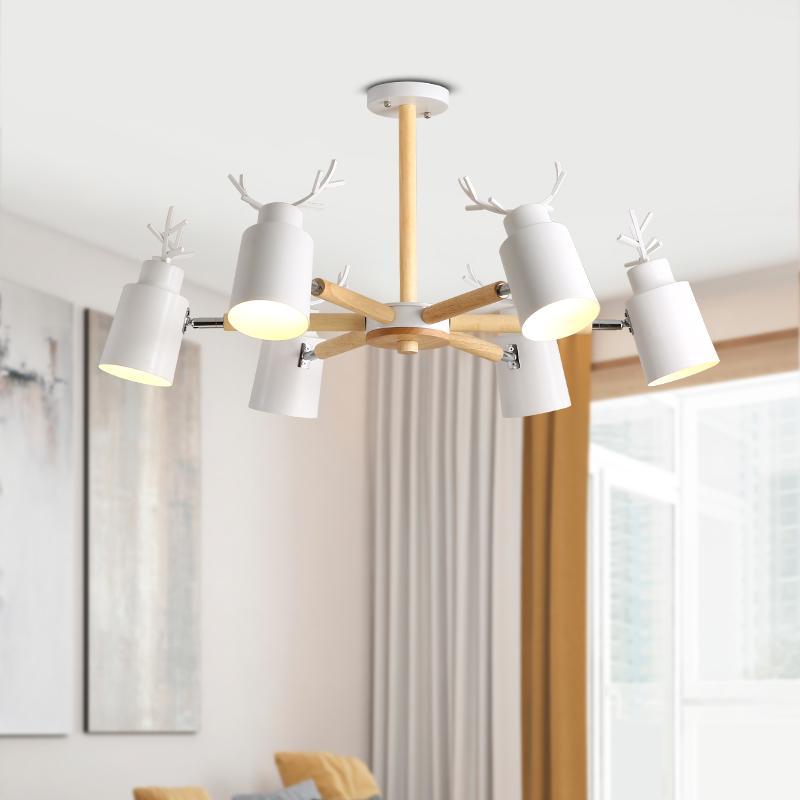 Compre Moderno LED Candelabros Techo Para Comedor Sala De Estar ...