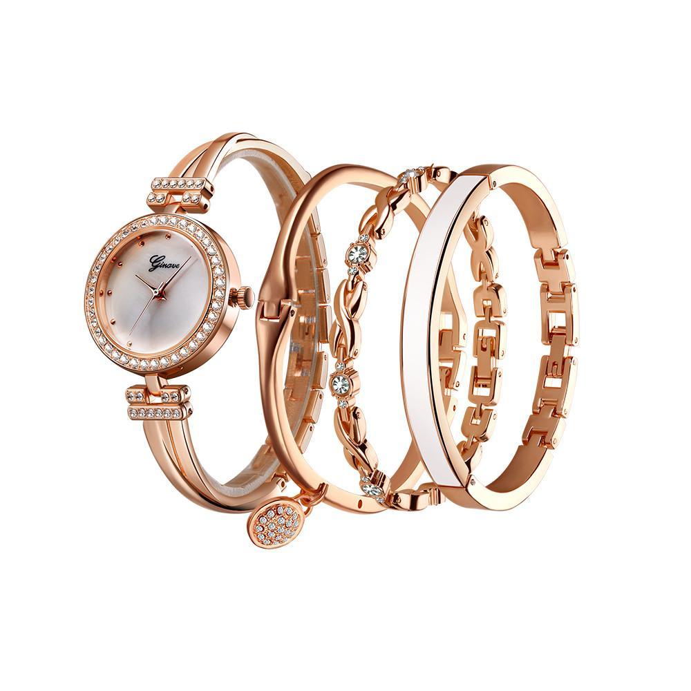 e1b69580c Unique Design Women Fashion Stainless Steel Band Analog Quartz Round Wrist  Watch Watches Ladies Bracelet Watches Bayan Saat Buy Wrist Watch Online  Online ...