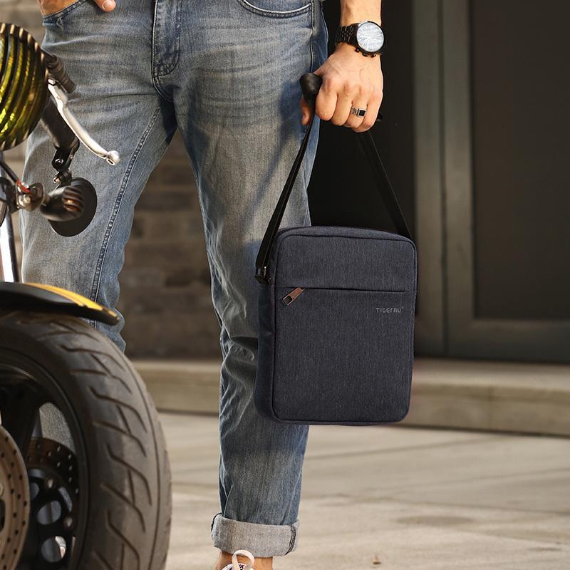 2017 Spring Design Tigernu Brand Men Messenger Bag High Quality Waterproof Shoulder Bag For Women Business Travel Crossbody Bag