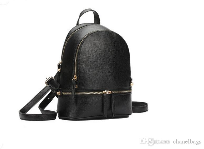 caf1481a988 Famous Designer Backpacks 2018 Fashion Luxury Brand Women Blackpack Lady School  Bag Rucksack Bag Charms Army Backpack Water Backpack From Chanelbags, ...
