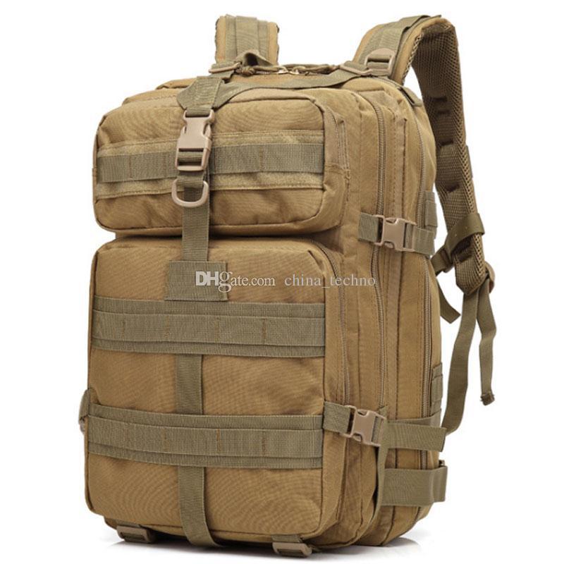 d0911d615 Compre 45L Deporte Al Aire Libre Militar Táctico Mochila Molle Mochilas  Camping Trekking Bolsa Senderismo Duffel Bags Gran Capacidad A $23.12 Del  ...