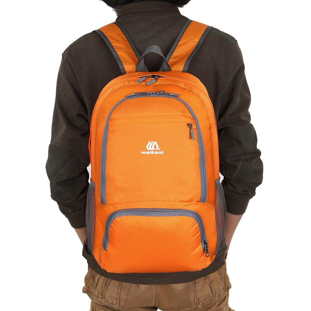 e35e92ee9644 Super Sell WEIKANI Hot Sale Nylon Backpack Waterproof Foldable Travel Backpack  Daypack Bag Outdoor Sport Camping Hiking Cyclin One Strap Backpack ...