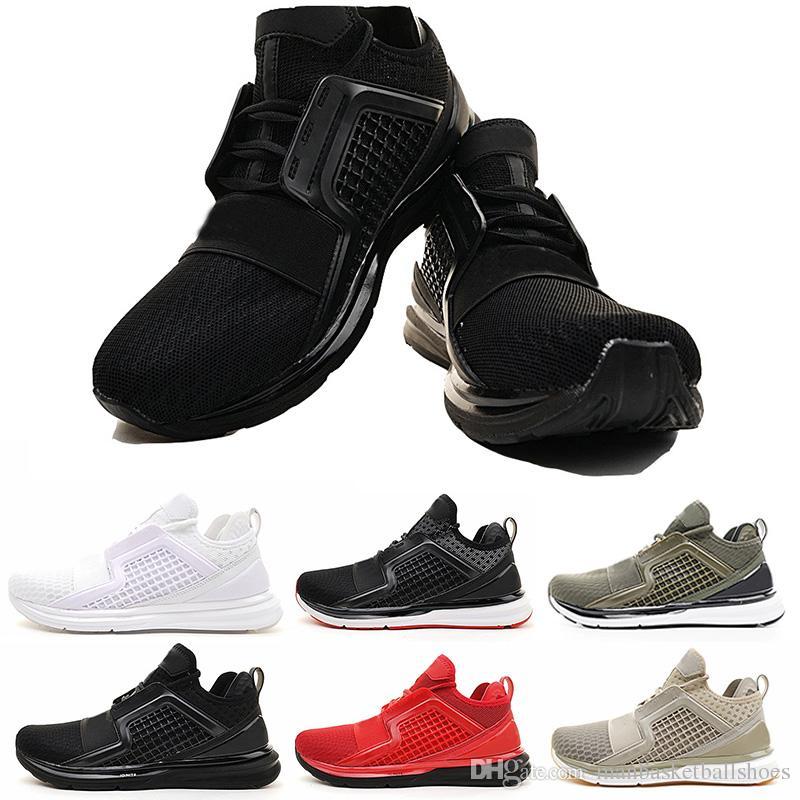 7fd1354be92 ... Ignite Limitless Tênis de corrida Respirável moda Rihanna Sapatos Preto  Vermelho Branco ao ar livre Homem Esportes designer de sapatos de venda  online