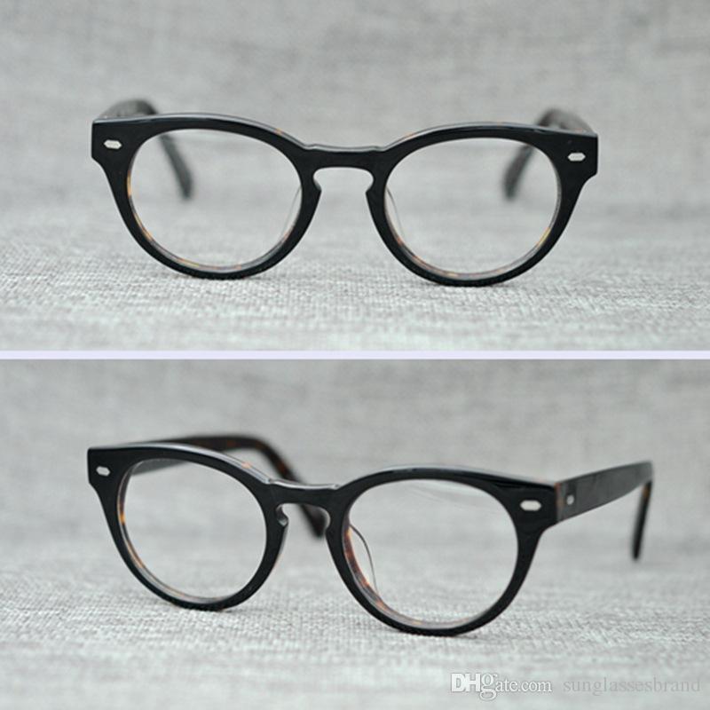 Compre Ps427 Vintage Gafas Pequeñas Lentes Transparentes Gafas De ...