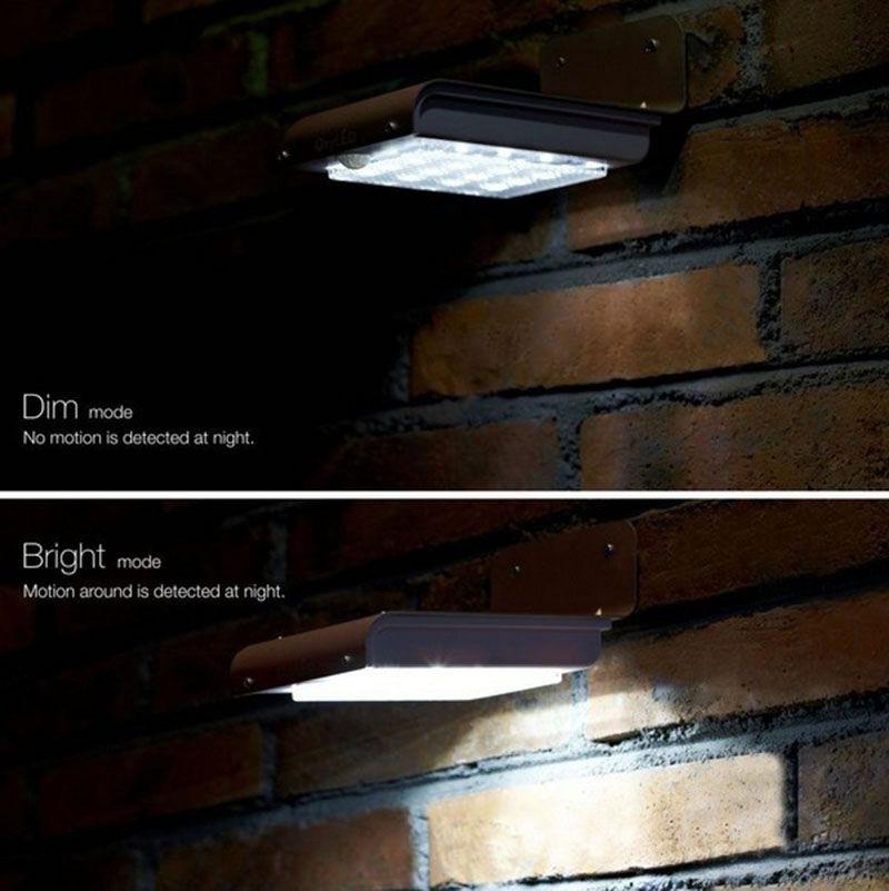 Solar Powered LED Light Motion sensor 16 LEDs Cool White Outdoor led Light lamp Wall Light Garden Lamp on sales