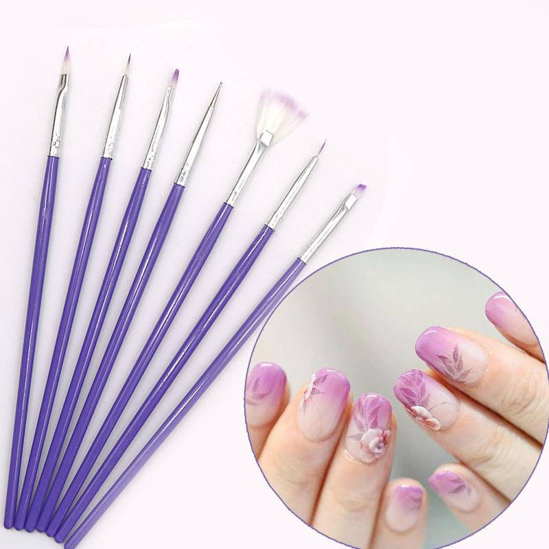 Manicure Nail Brush Nail Art Diy Painting Dotting Drawing Brush Pen