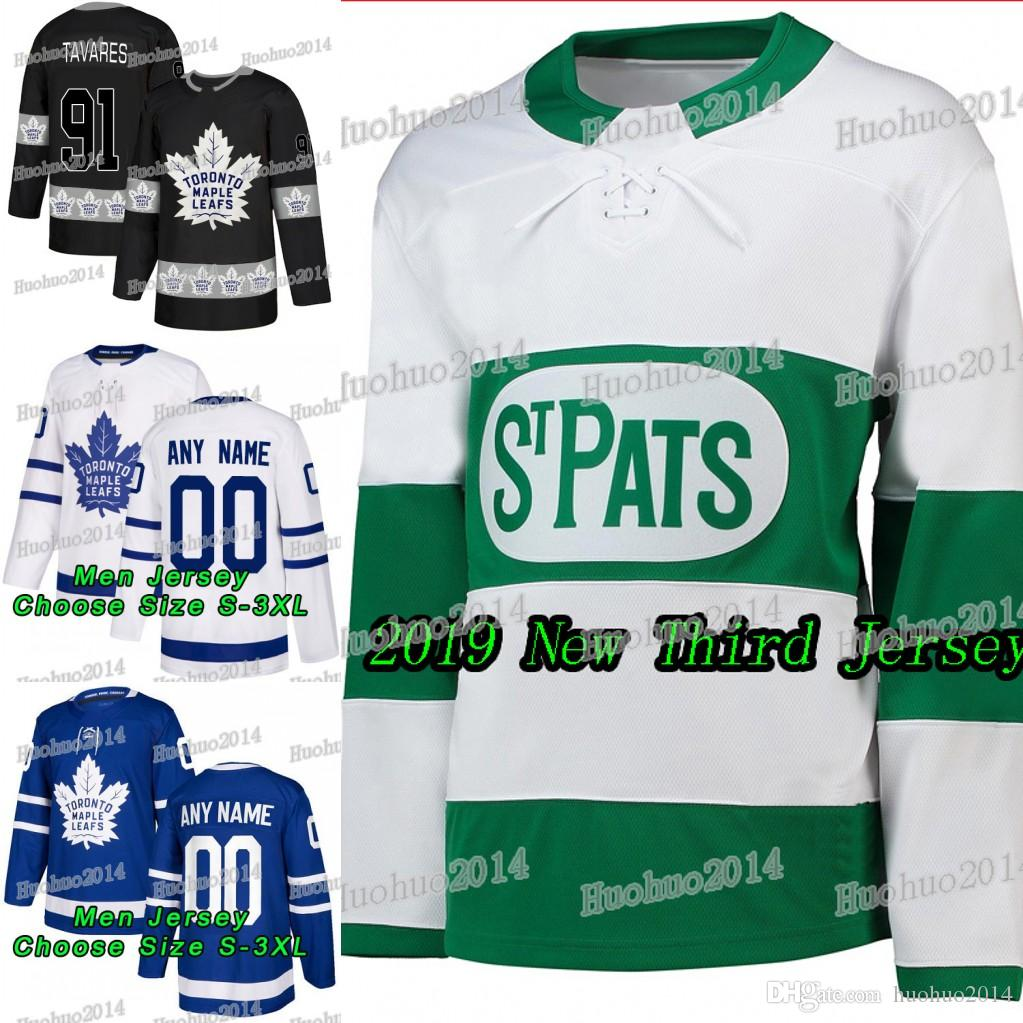 efa207cc7 2019 Third John Tavares Fights Cancer Toronto Maple Leafs Mitchell Marner  Auston Matthews William Nylander Brown Andersen Rielly Jerseys UK 2019 From  ...