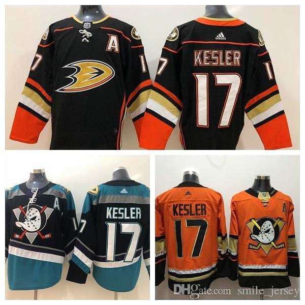 9b58819d5ee 2019 Mens 17 Ryan Kesler Anaheim Ducks Hockey Jerseys 100% Stitched ...