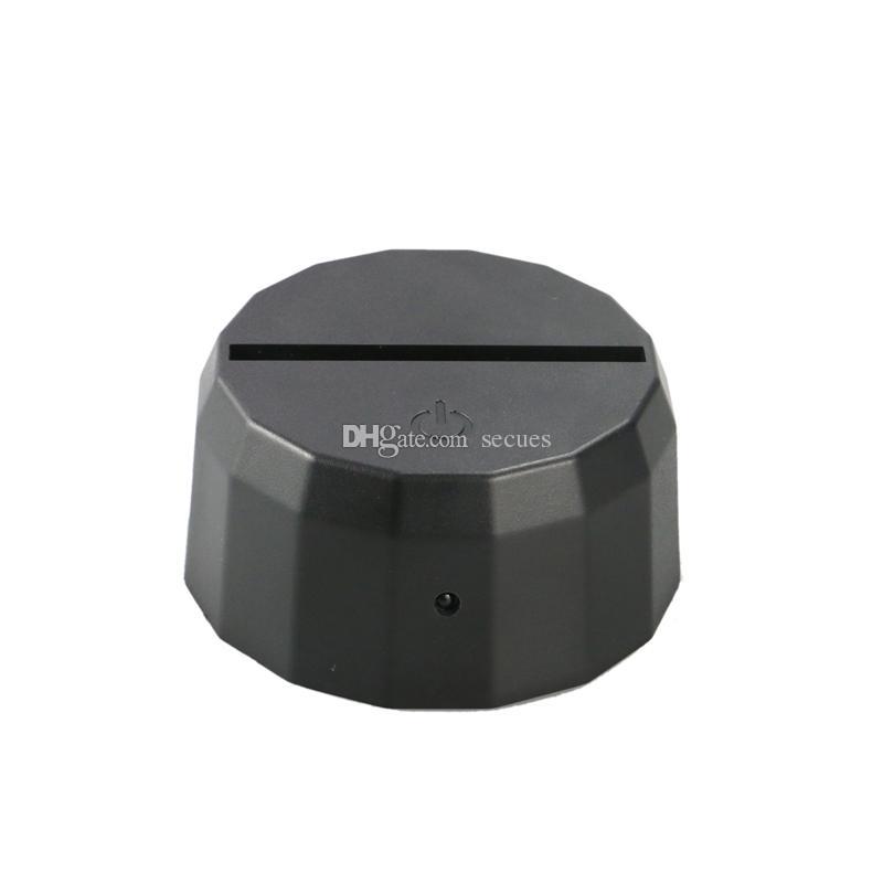 Luci RGB LED 3D Base lampada Lampada IR a distanza Batteria 10 LED Lampade ottiche 3D Interruttore tattile Novità Illuminazione Lampada da tavolo Commercio all'ingrosso