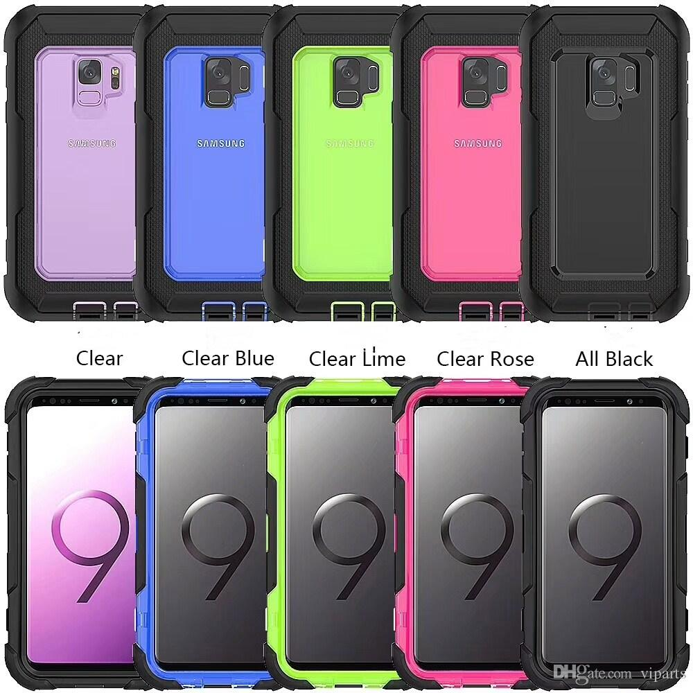 brand new d1c2e 4c707 S9 Cases 360 Rotated Kickstand Belt Clip Hard Case for Samsung Galaxy S9  Plus TPU PC Full Protective Shockproof Back Cover