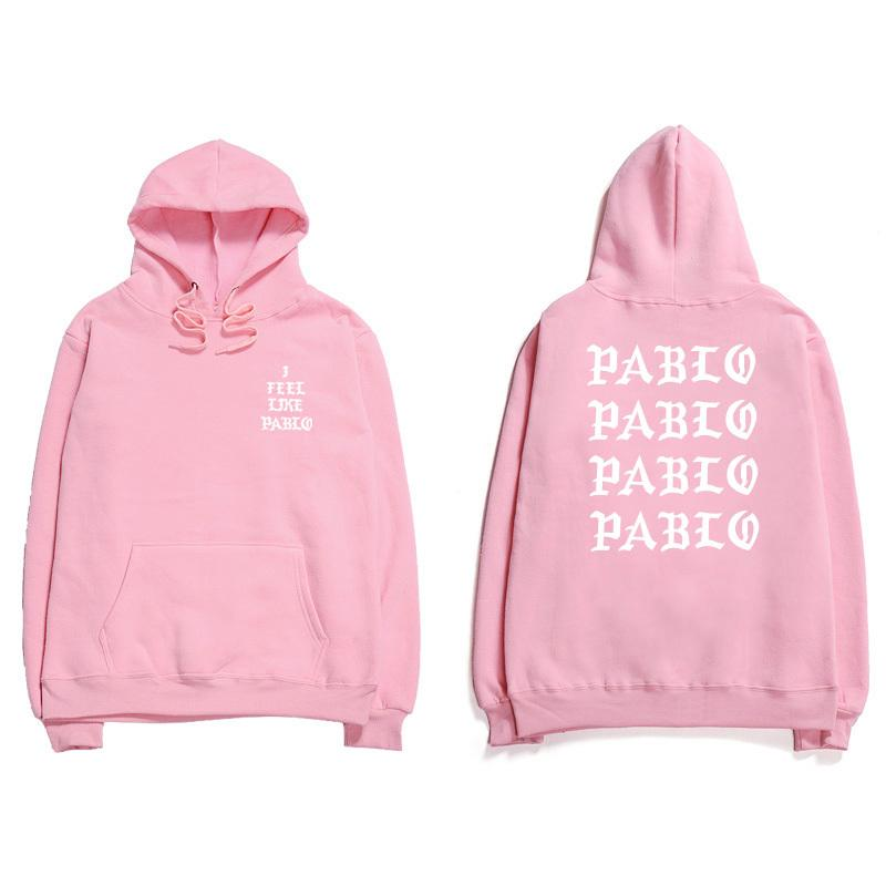 b37ce430f2f7 2019 Assc Hip Hop Hoodies Men I Feel Like Pablo Kanye West Streetwear Hoodie  Sweatshirts Anti Social Letter Print Hooded Hoodie Club D18100708 From  Yizhan04 ...