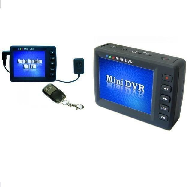 "2.7"" LCD screen Mini DVR Angel Eye KS-750M Motion Detection button DVR KS-650M mini audio video recorder Car DVR in retail box"