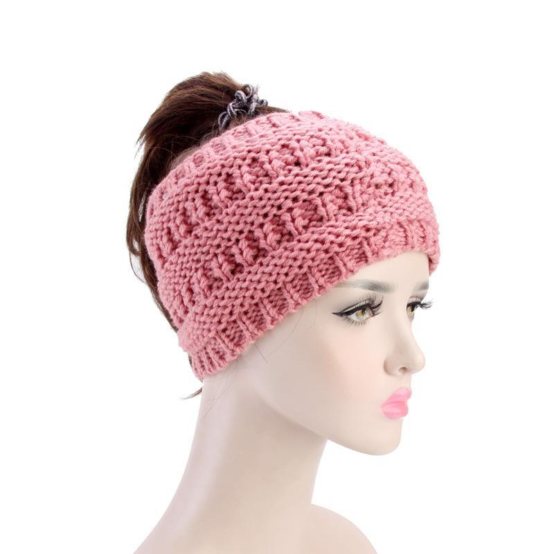 Großhandel Muslimische Frauen Stretch Winter Warm Crochet Wool ...