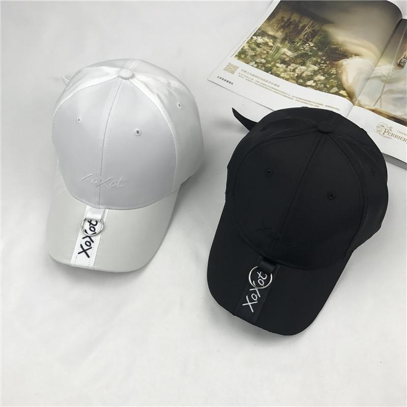 408edaf4baa Baseball Hat Woman Korean All Match Tide Favor Companion Embroidery Peaked  Cap Summer Hip Hop Leisure Time On Vacation Hat Male Beanies Kangol From ...