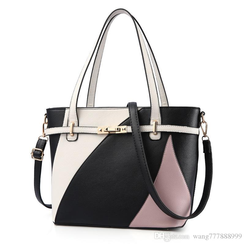 6fbf63f7ae4 2018 Free shipping high quality Designer handbags handbag fashion totes  women designer shoulder bags high quality purse pu leather bag