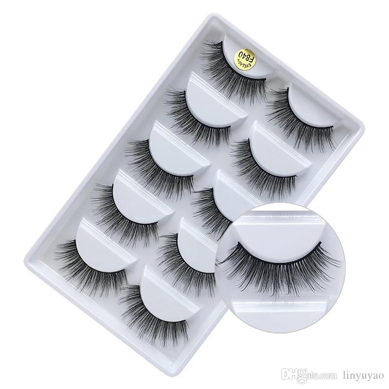 04969d40a20 New False Eyelashes Makeup Eyelash Extension Natural Long Eye Lashes ...