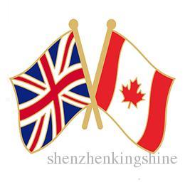 2018 Uk Canada Friendship Pin A From Shenzhenkingshine, $61.3 | Dhgate.Com