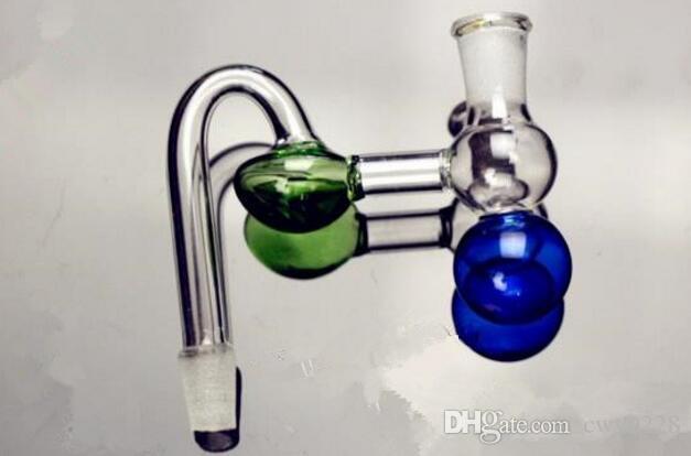 Calabaza al por mayor Bongs de vidrio Quemador de aceite Pipas de agua de vidrio Plataformas petroleras Fumar gratis