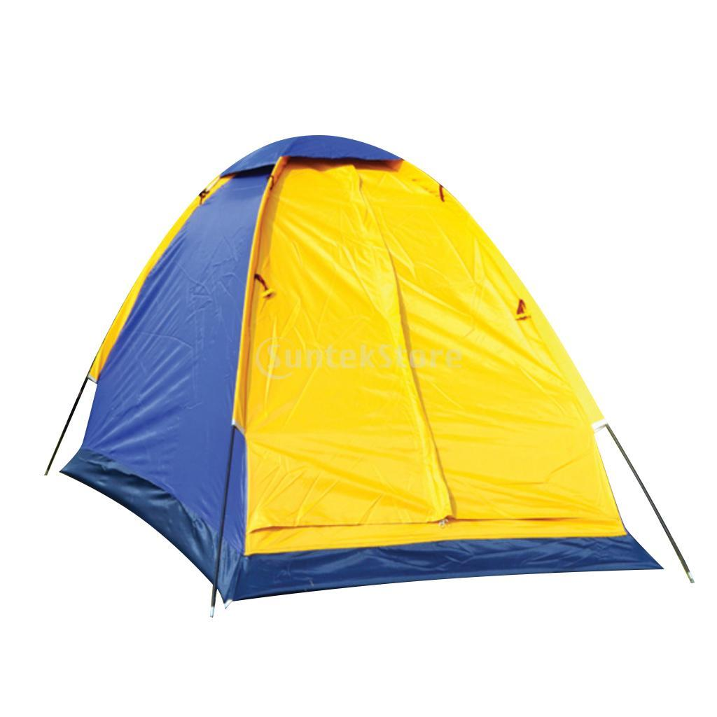 Lightweight Waterproof 1 Person Camping Backpacking Tent with Carry Bag