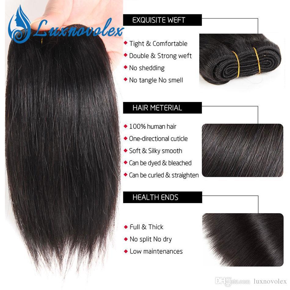 Brazilian Body Wave Hair 6 Bundles Straight Deep Wave Kinky Curly Bundles Brazilian Short Virgin Human Hair Extensions 8 Inch 50g/Bundle
