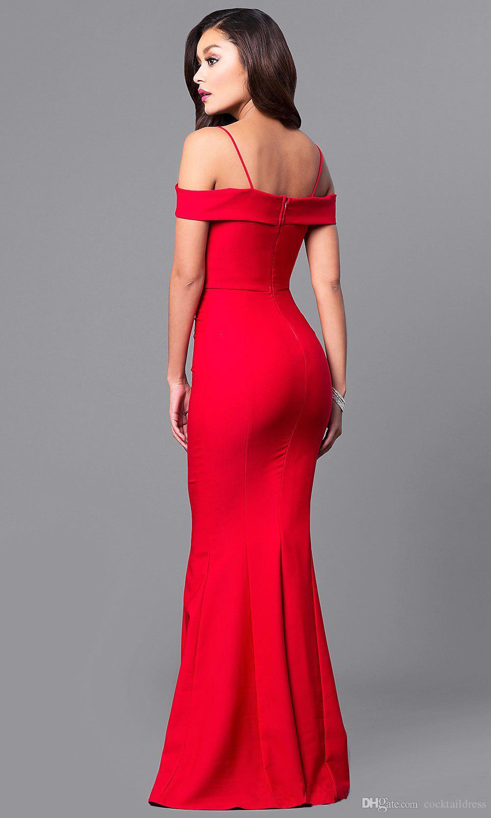 Venda Red Sereia Vestido de Noite Multiway Mangas Tampadas e Trumpet Flare Hem, Sexy Fit n Flare Burlesco Pin Up Vestido