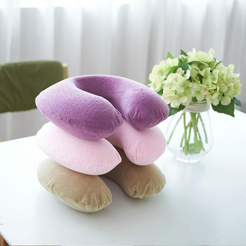 Slow Rebound Memory Foam Neck Pillow Upgrade Massager Slow Rebound