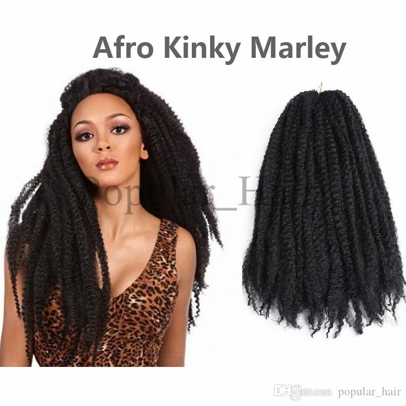 1 100g Afro Kinky Twists Hair Extensions Crohcet Braids Freetress