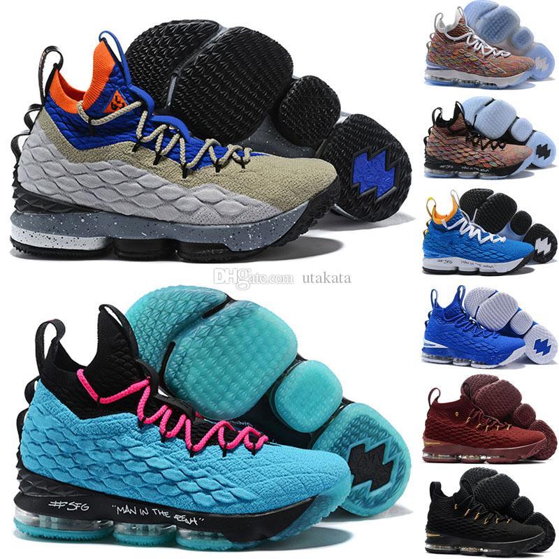 e84106535 Compre Venta Caliente 2018 Nuevo Xv 15 Bhm Ashes Fantasmas Fantasmas  Baloncesto Hombres Para Hombre De Lujo Corriendo Diseñador Zapatos De Marca  ...