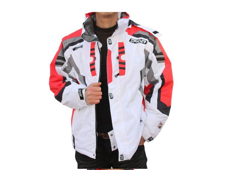 Atacado- 2016 Outdoor Sportwear Jaqueta de Esqui Homens Ski Suit Windproof Waterproof Skiing Roupas Frete Grátis Venda Quente