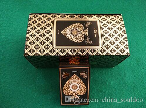Plastic Playing Cards Poker 54 Cards Retro Gold Adult Waterproof Board Game Family Fun Game Playing Cards