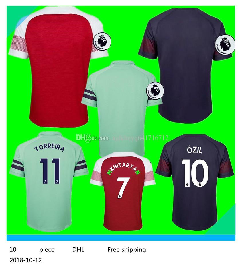 Camiseta De Fútbol De Xxl 3xl 4xl 2018 2019 Arsenal Ozil Aubameyang Inicio  3rd 18 19 Lacazette Mkhitaryan Giroud Xhaka Ramsey Wilshere Camisetas De  Fútbol ... e2a9149585d0d