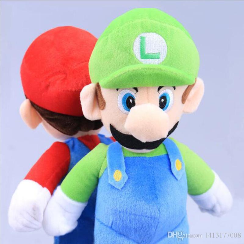 best 10 25cm super mario bros luigi plush toys super mario stand
