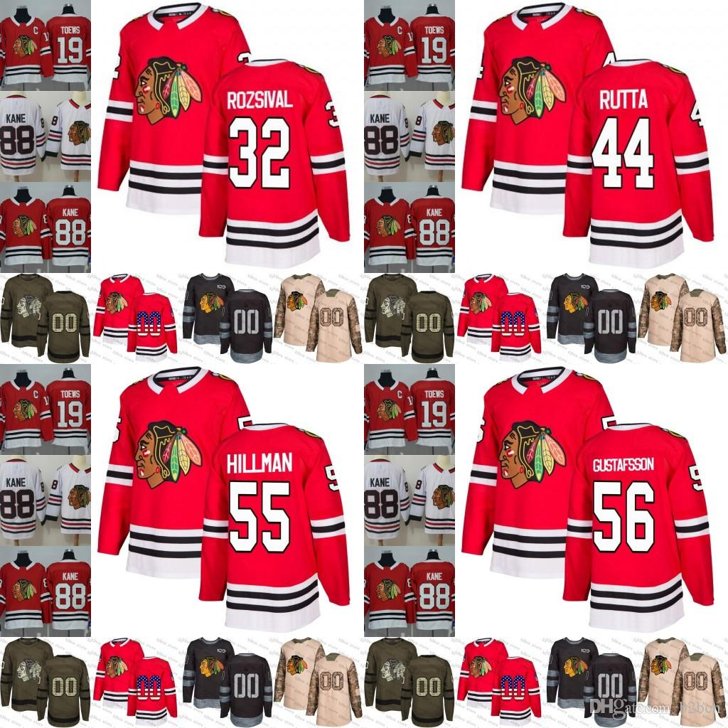... coupon 2018 2019 chicago blackhawks 32 michal rozsival 44 jan rutta 55  blake hillman 56 erik 30ae0a61f