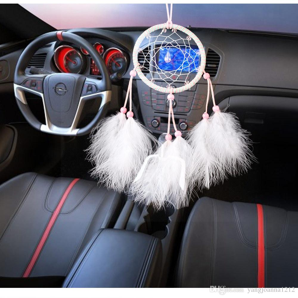 Small Dream Catchers For Sale 40 Hot Sale Crystal Small Dream Catcher Net For Cars Home Wall 34