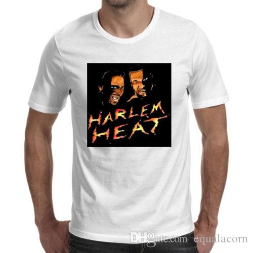Harlem Heat Booker White T Shirt Cool Tee Shirt A Day Shop T Shirt Online  From Tshirs4you 8e17c30434c