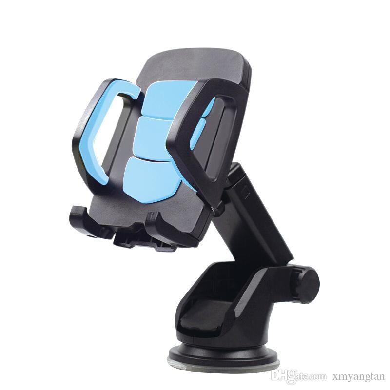 Long Neck Arm Car Mobile Phone Holder Stand Cradle Dock for Universal Phones Holder Windshield 360 Rotate Dashboard