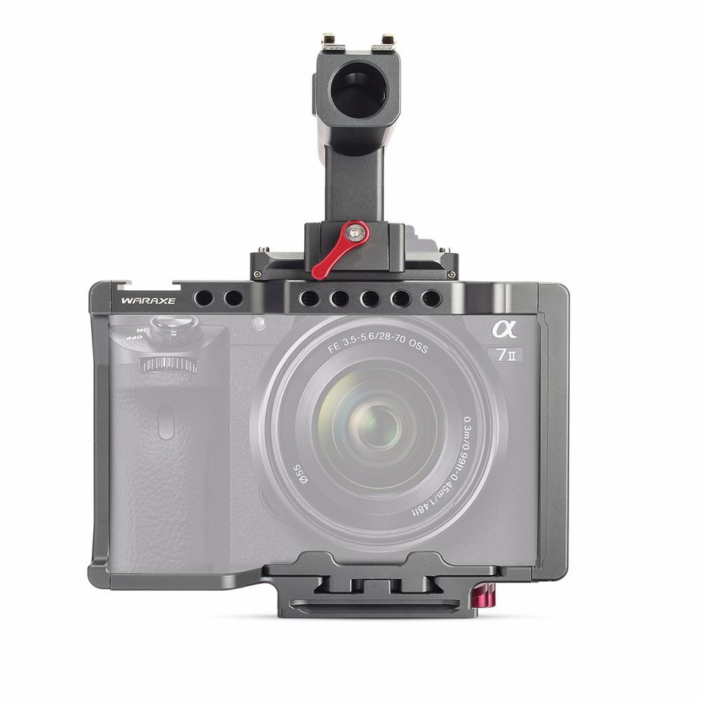 Sonys A7s Ii Fit Ceramic Tile L Plate Bracket Kamera Sony Alpha A7 A7r 2018 Waraxe Kit Camera Video Cage Built In Quick Release Fits Arca Swiss For