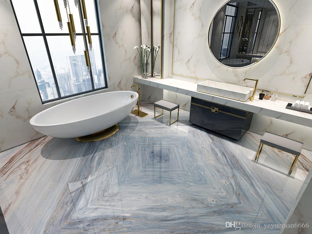 3d Fußboden Kosten ~ Großhandel aquamarin sandstein d bodenbelag marmor d tapete für