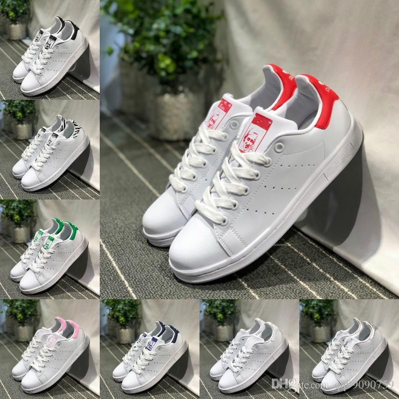 Nouveau 2018 Chaussures Originals Adidas Smith Stan Acheter Shoes xzYvgqWw