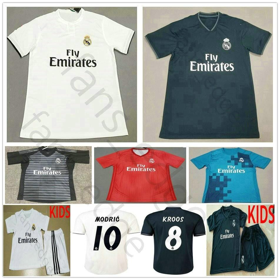 2019 2019 Real Madrid Soccer Jersey ASENSIO MODRIC SERGIO RAMOS VINICIUS JR  BALE ISCO Camiseta KROOS 18 19 Football Shirts Man Kids Youth Women From ... edb043abedd4f