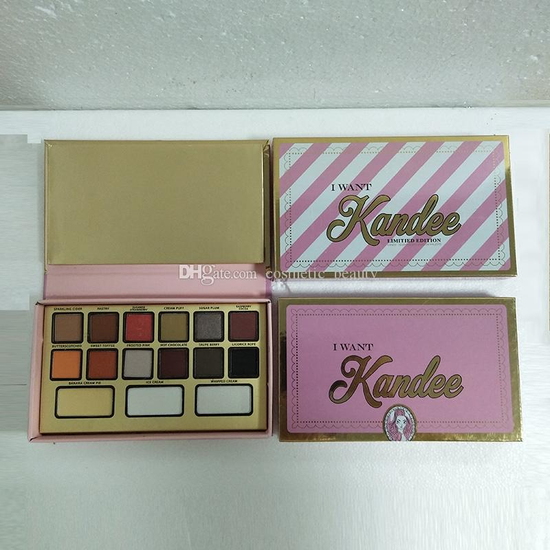 2018 Makeup Brand I Want Kandee Candy-Scented Eyeshadow Palette Limited Edition Eyeshadow Palette DHL shipping