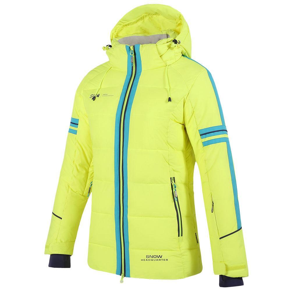 f16c8bcdd8 Ski Suit Female Cotton Pad Warm Waterproof Snowboarding Suits Women ...