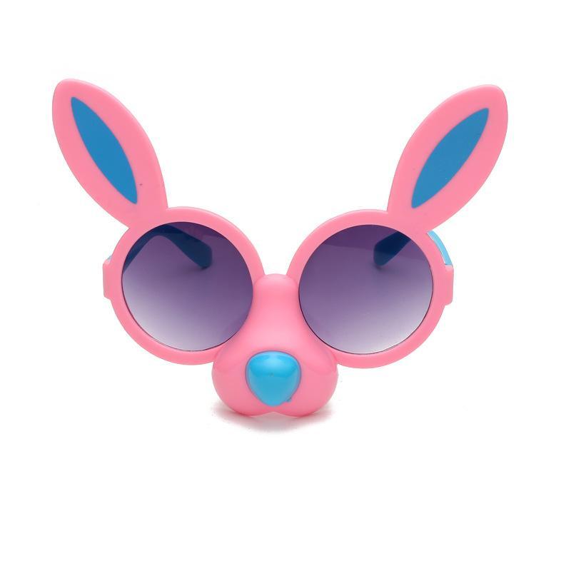 Children's cartoon sunglasses anti-UV glasses Cute animals sun glasses for child Christmas gift free tnt fedex